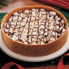Smore Cheesecake Recipe - also for the Relay
