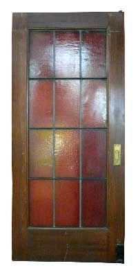 Pair Of French Doors 12 Lites With Roller
