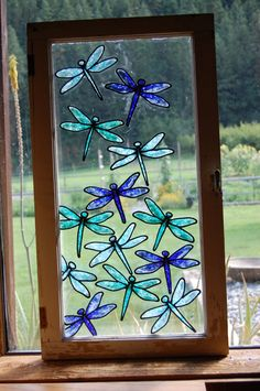 Broken Glass art Abstract - Stained Glass art Sunset - - Glass art Projects How To Paint - Glass art Videos Abstract Faux Stained Glass, Stained Glass Designs, Stained Glass Projects, Stained Glass Patterns, Mosaic Patterns, Broken Glass Art, Sea Glass Art, Glass Wall Art, Mosaic Glass