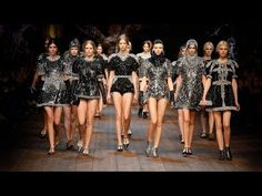Dolce & Gabbana Woman Catwalk Video – Fashion Show Fall Winter 2014 2015