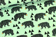 Sweat - Triangles Bear - Bären - Andrea Lauren von alles-fuer-selbermacher auf DaWanda.com