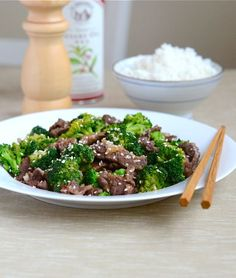 Sesame Beef and Broccoli | Appetite for China | Appetite for China