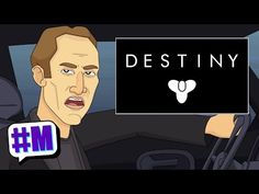 Animated Nick Cage Sums Up Destiny in 60 Seconds with Laser Beam Eyes | Entertainment Buddha