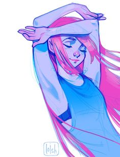 "Lois van Baarle on Twitter: ""summery doodle ~ saying goodbye to this season it…"