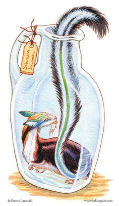 Bottled: Colorful Critter by emla.deviantart.com on @deviantART