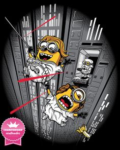 Despicable Escape T-Shirt $10 Star Wars tee at ShirtPunch today only!