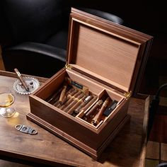 Humidor Woodworking Plan, Gifts & Decorations Boxes & Baskets Gifts & Decorations Office Accessories