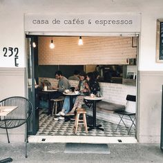 """The best little coffee shop in Mexico City, @chiquititocafe became my neighborhood spot during my week here."""