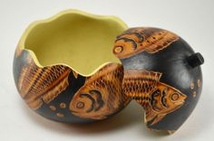 Fish Gourd Box http://dogwoodbox.com/products/fish-gourd