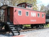 If you have a love for trains, you can't do much better than The Depot Lodge which offers bedroom lodging in a renovated  Norfolk & Western caboose  in the countryside of Paint Bank, Virginia.