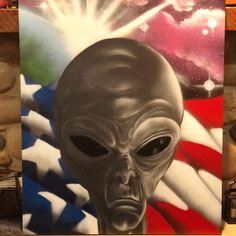 """Matthew Arnold on Instagram: """"The local Elementary school asked me to donate a piece to the school. I refer to a select few of my friends as space aliens. We don't…"""" Space Aliens, My Friend, Friends, Ask Me, The Locals, Elementary Schools, Street Art, Superhero, Fictional Characters"""
