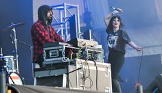 Ethan Kath and Alice Glass of the Toronto electro-goth duo Crystal Castles pride the http://allmusiclive.com/crystal-castles-free-download-of-plague/