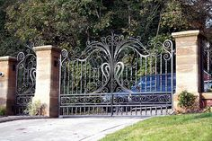Beautiful gates from somewhere!