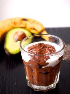 Keep it Cool – suklaavanukas (yhdelle) 1 banaani 2 rkl chia-siemeniä n. 8 rkl kookosmaitoa 1-2 rkl raakakaakaojauhetta 1 rkl lucumajauhetta ½ avocado ½ tl Terranova Kaura&Kirsikka Super-Blend jauhetta ½ tl ceylonin kanelia ripaus suolaa