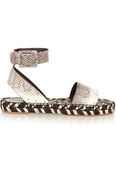 Proenza Schouler Ayers espadrille sandals | NET-A-PORTER