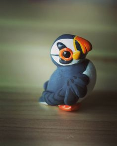 Polymer clay - Atlantic Puffin - Macareux moine