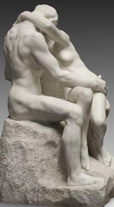 RODIN Auguste (Paris 1840 – 1917 Meudon) ~ the kiss