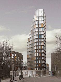 Square is the new trend for condo architecture