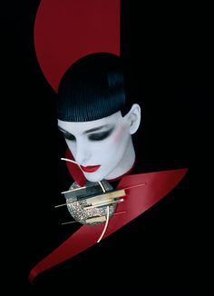 Leslie Navajas  for Serge Lutens, October 1989