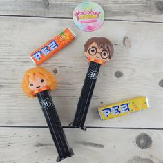 Ron Weasley, Hermione Granger, Saga Harry Potter, Bros, Souvenir, Tiny Gifts, Quirky Gifts, Candy Dispenser, Childhood