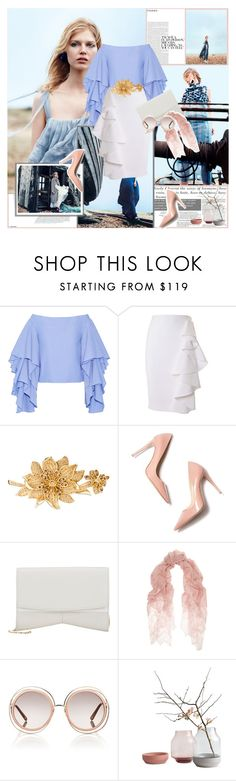 """""""..."""" by margarita-m-a ❤ liked on Polyvore featuring мода, Rosie Assoulin, Moschino, Judith Leiber, Narciso Rodriguez, Valentino, Chloé и judithleiber"""
