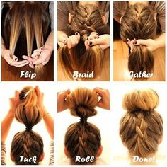 Hair Tutorial, very cute