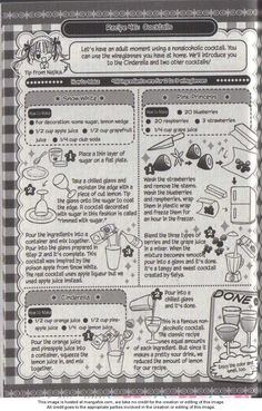 Kitchen Princess Kitchen Palace - Read Kitchen Princess Kitchen Palace Manga Scans Page 1 Free and No Registration required for Kitchen Princess Kitchen Palace Kitchen Palace Pop Culture Shop, Recipe Drawing, Pie Company, Japanese Snacks, Yummy Drinks, Food Pictures, How To Introduce Yourself, Recipies, Cocktails
