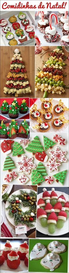 #Natal #comidas #ideias