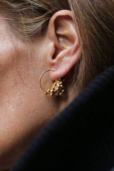 Drops earrings by Inês Nunes
