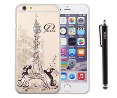 iPhone 6 Case, iPhone 6S Case, iYCK 3D Handmade Clear Bling Crystal Rhinestone Diamond Hard Plastic Snap On Shell Back Skin Case Cover for iPhone 6 / 6S 4.7 inch Screen - Paris Music Note Eiffel Tower IYCK http://www.amazon.com/dp/B0146FTNHU/ref=cm_sw_r_pi_dp_D2Sgwb1TPR6VC