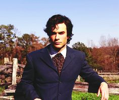 #TVD The Vampire Diaries Damon Salvatore in 1864