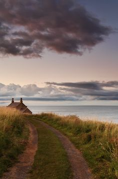 Howick, Northumberland, UK - I had a dream about this scene before I even saw this. Weird.