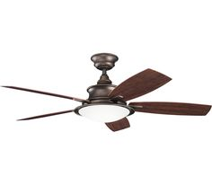 Kichler Cameron Fan 310104WCP, at Del Mar Fans & Lighting, over 100,000 happy customers