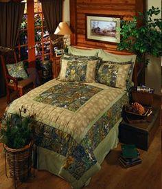 Mossy Oak Camo Patch comforters