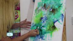 1ª PARTE!!! Nora Pareja,  nos enseña un  lindisimo Abstracto en oleo !!!