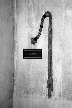 This is the like the whip that they would fear and would be used by Dobson in the last scene. The whip will be damaged to show it has been used often.