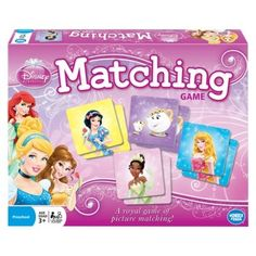 Disney Princess Matching Game from Target on Catalog Spree, my personal digital mall. Parker