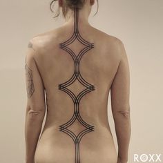 Striking Geometric Tattoos Inspired by Nature's Microscopic World - My Modern Met