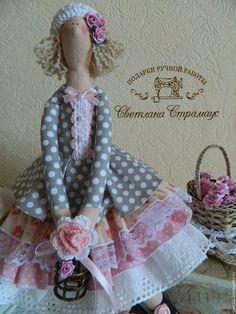 Куклы Тильды ручной работы. Ярмарка Мастеров - ручная работа. Купить Нежная кукла Тильда  в стиле Шебби шик. Handmade.