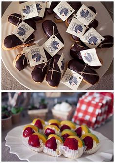 French Inspired Baby Shower Treats
