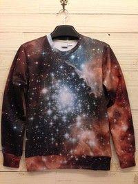 Alpha Centauri Psychedelic Unisex Harajuku Galaxy Sweater