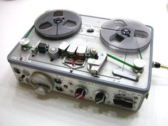 The ultra-rugged 'Road-warrior proof' (pre-digital) Nagra professional field audio recorder.  nagraaudio.com