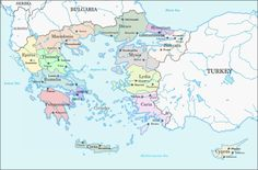 King of the Greeks and Emperor of the Romans by Lehnaru on DeviantArt Greece Map, Alternate History, Fantasy Map, Location Map, Historical Maps, History Museum, Emperor, Romans, Deviantart