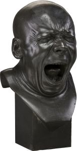 """Franz Xaver Messerschmidt (February 1736 – August was a German-Austrian sculptor most famous for his """"character heads"""", a collection of busts with faces contorted in extreme facial expressions. Camille Claudel, Art Sculpture, Modern Sculpture, Sculpture Portrait, Wassily Kandinsky, Franz Xaver Messerschmidt, Museum Of Fine Arts, Art Plastique, Art Forms"""