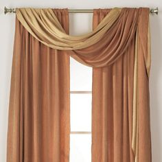 window scarf valances for easy decorating.