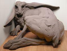 Beth Cavener - Follow the black rabbit | Cornered Rabbit