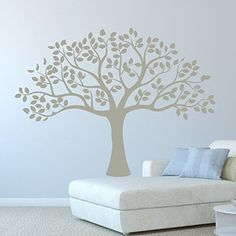 Trees are one of the many beautiful things in nature. Now with this vinyl wall decal the beauty of the tree can be in your home