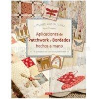 Aplicaciones de patchwork y bordado
