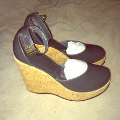 Kork-Ease Sandals NEW Kork-Ease The Original Handmade Sandals. New, never worn. Beautiful wedge sandals. Size 9. Charcoal gray. If these were my size, I would keep them because I love them. There is a tiny tiny scuff on the back of the left heel from being in the box. Other than that, perfect condition! Make me an offer! Kork-Ease Shoes Wedges