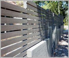 Composite Wood Fence Slats